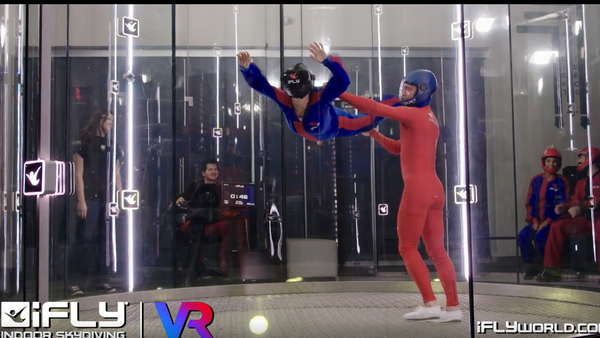 Indoor skydiving with VR headset | Meetup