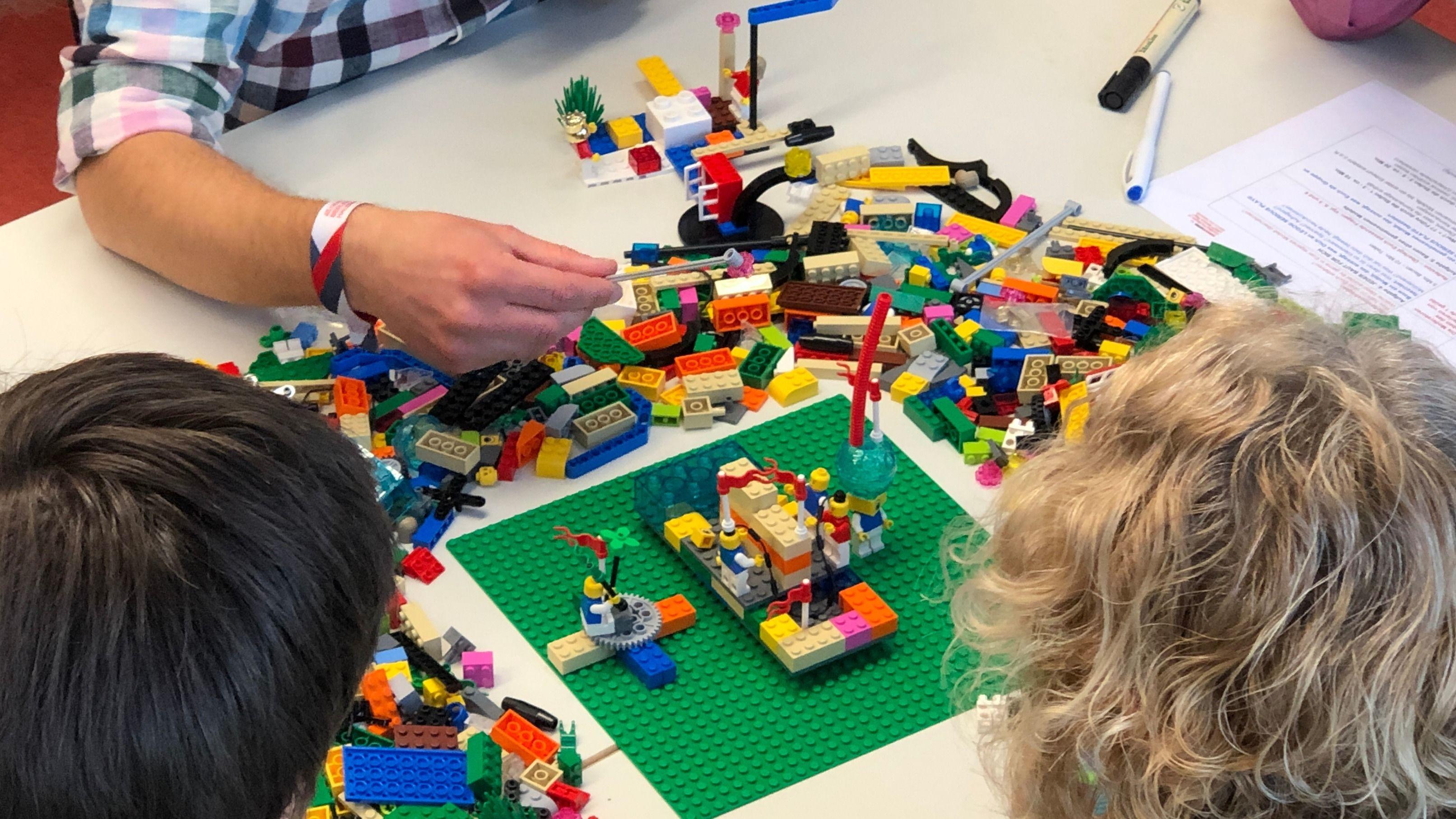 #seriouswork: LEGO SERIOUS PLAY Meetup Stuttgart