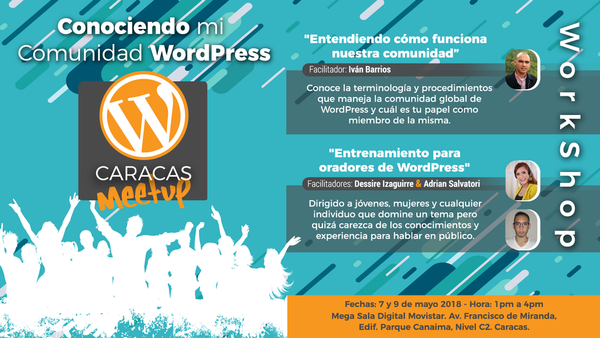 Conociendo mi Comunidad WordPress | Meetup