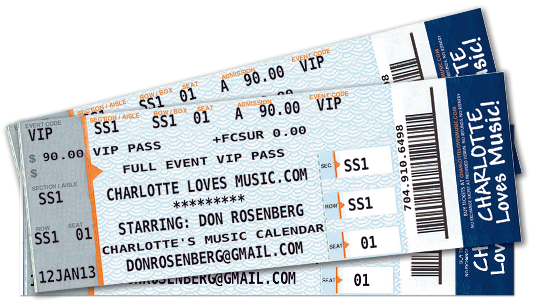 Charlotte Loves Music!