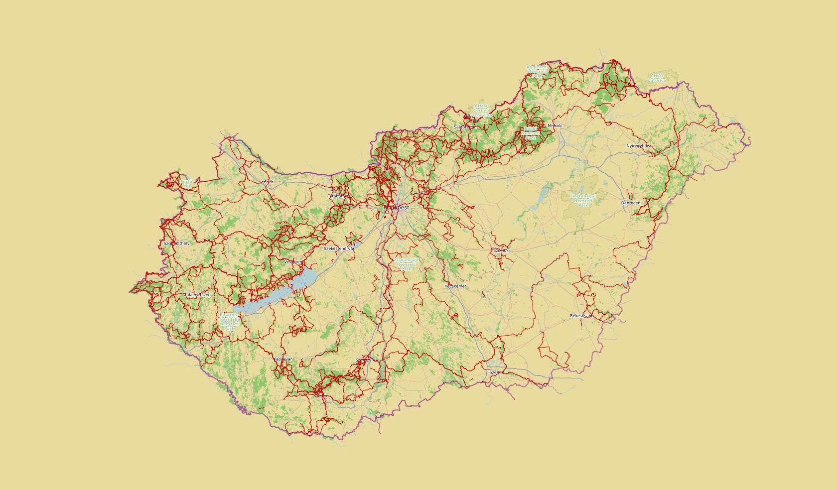 OpenStreetMap Hungary