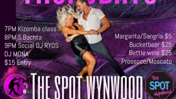 LATIN FEVER IN THE SPOT WYNWOOD, DANCE CLASSES AND SOCIAL DANCE