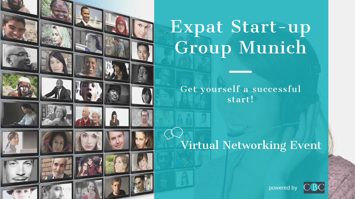 Virtual Networking Event - Expat Start-up Group Munich