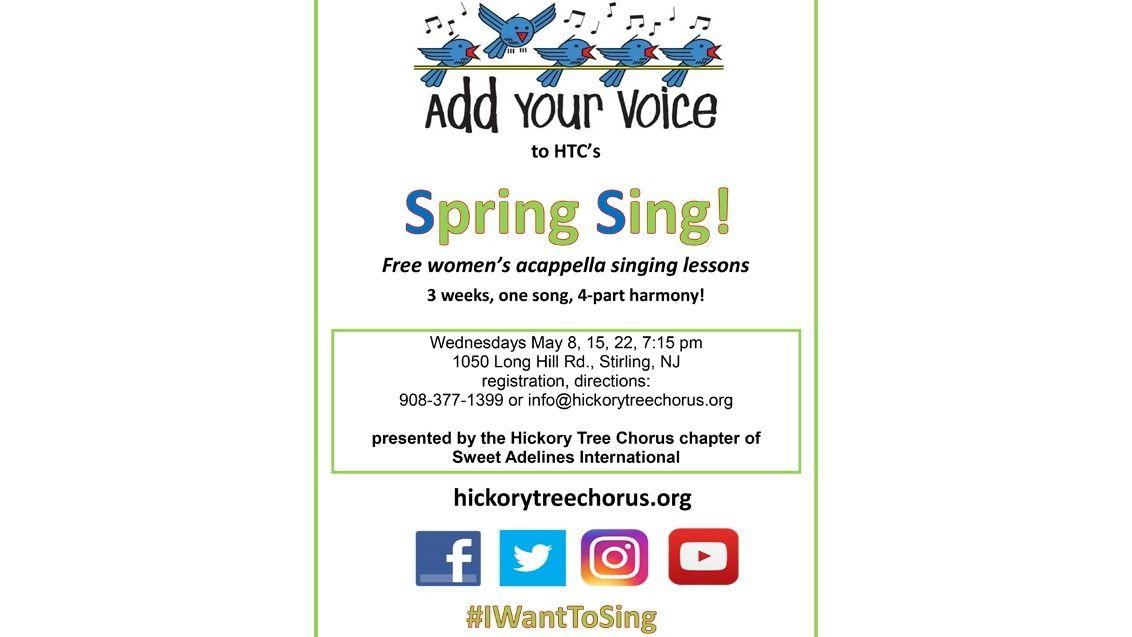 Hickory Tree Chorus, Women's A Cappella Chorus