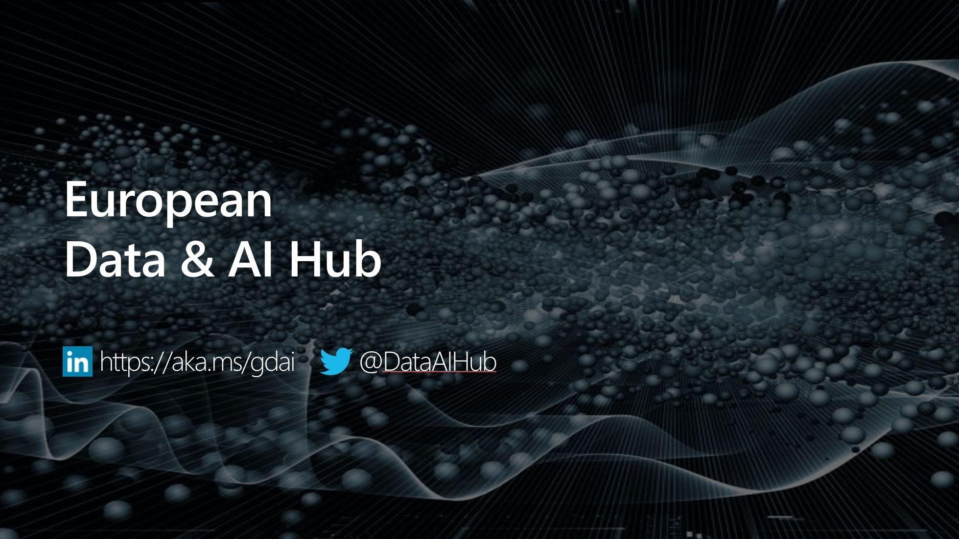 European Data & AI Hub