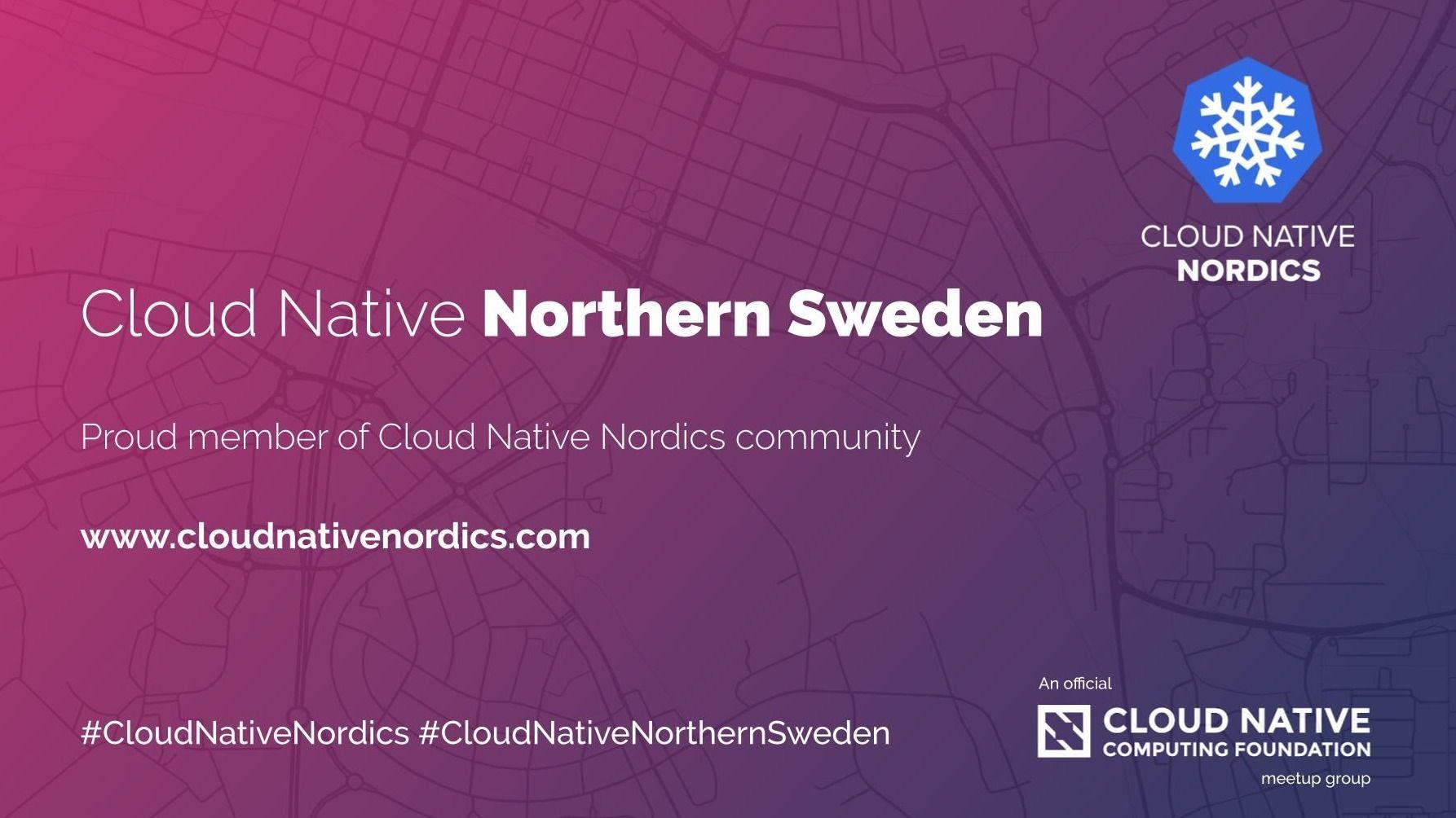 Cloud Native Northern Sweden