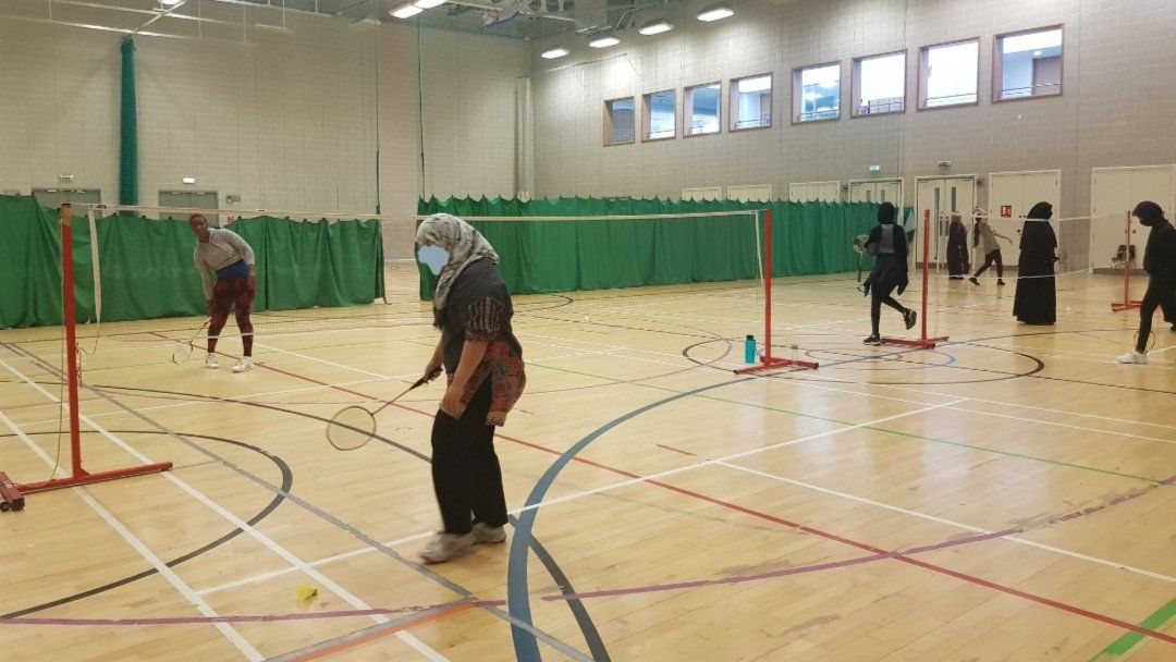 Cancelled this week - Ladies Badminton Session
