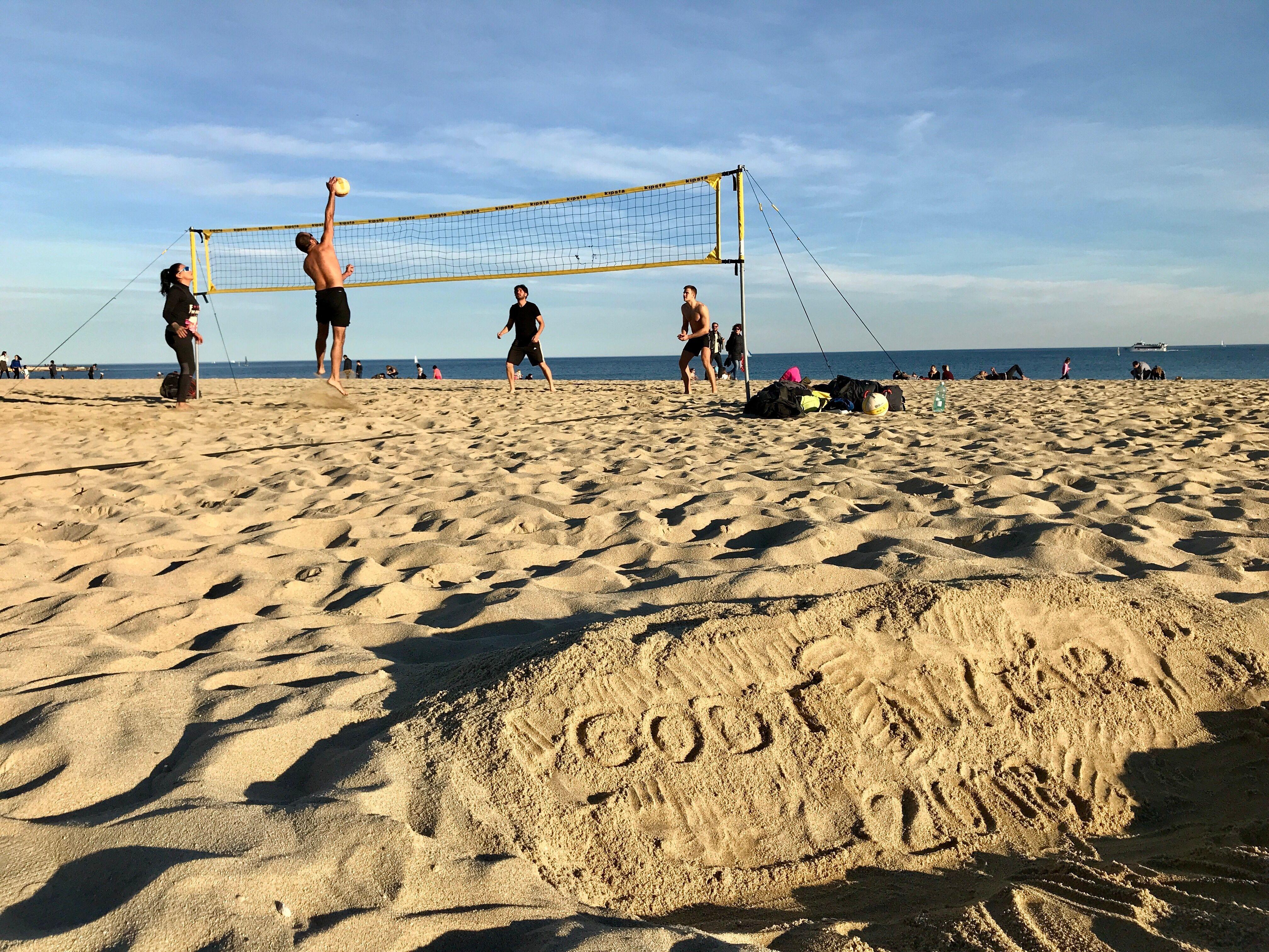 Barcelona 2x2 Beach Volleyball (Intermediate)