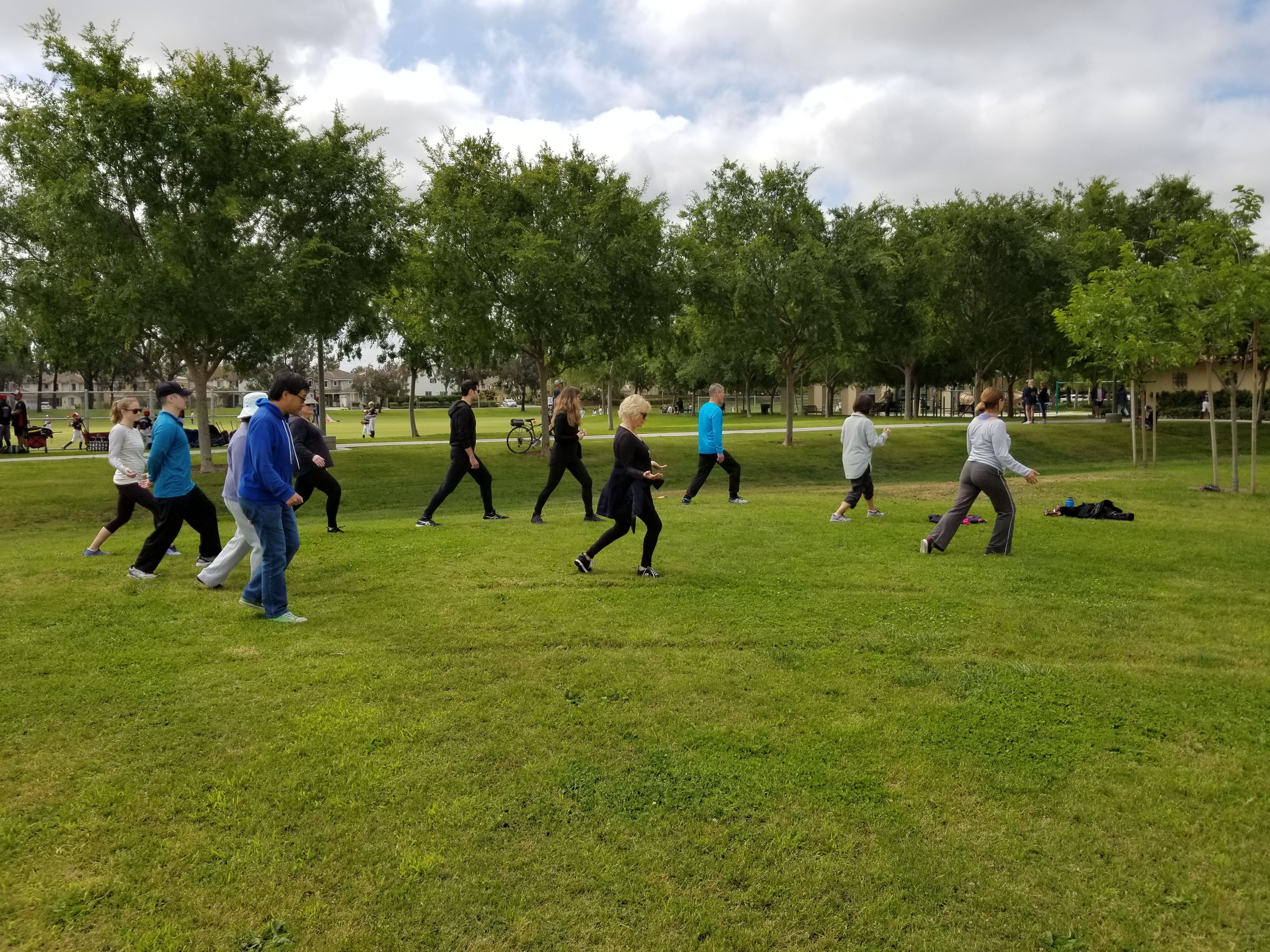 Beginners Tai chi and breathing Qi gong in Irvine