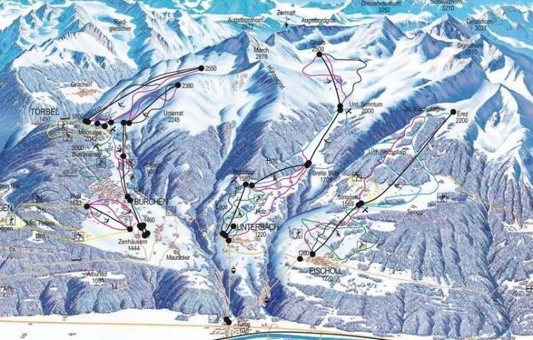 Ski- and Snowboard Weekend  Moosalp / VS