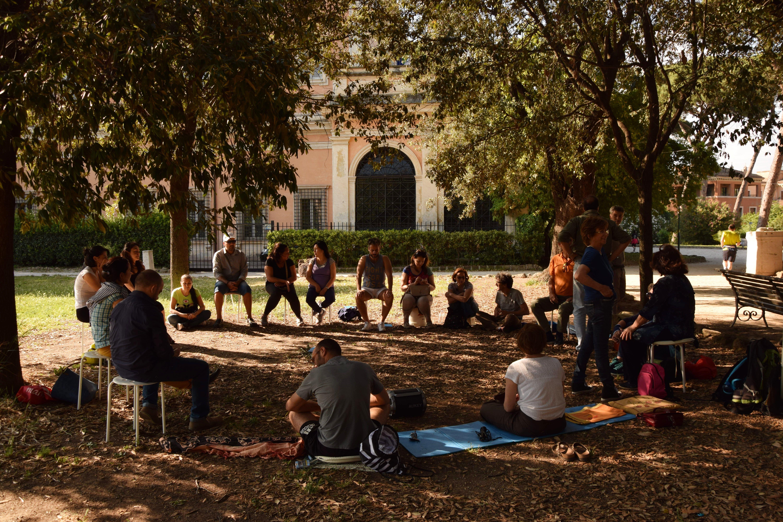 Meditazione al Parco in Villa Celimontana