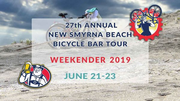 27th Annual New Smyrna Beach Bicycle Bar Tour Weekender June