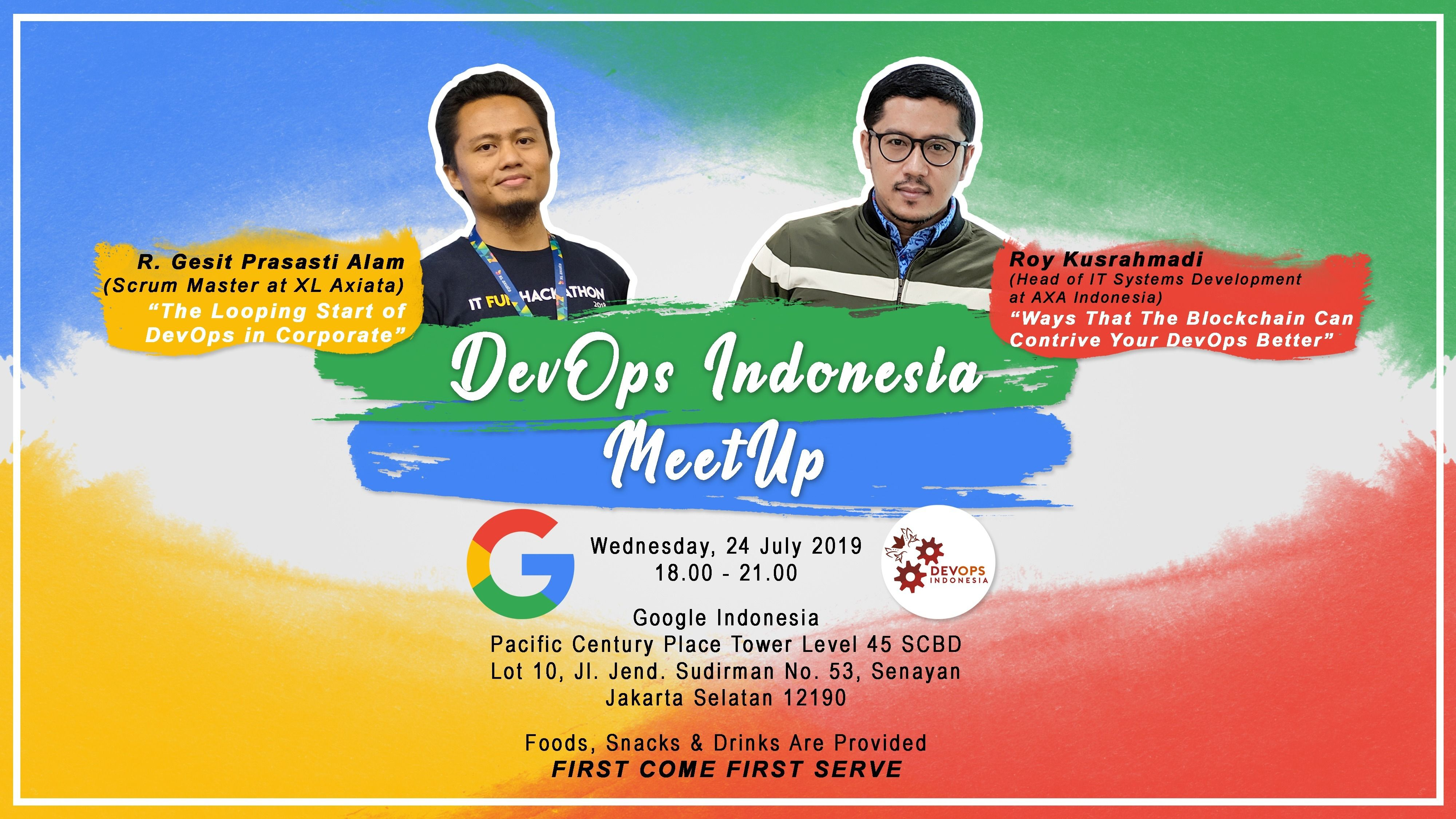 "DevOps Indonesia ""How DevOps deal with enterprise and blockchain"""