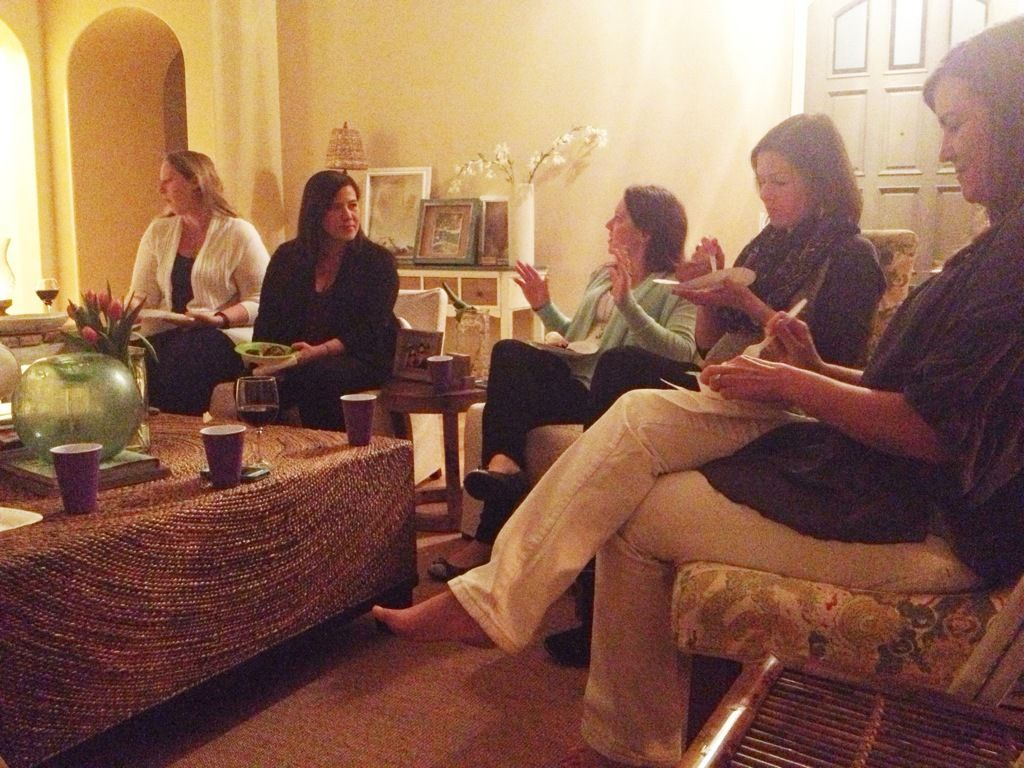 Moms OC Dinner, Wine, and Book Club