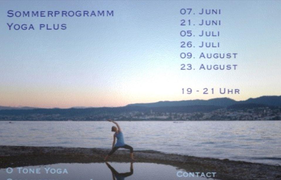 Yoga plus (Sommerprogramm 3/6)