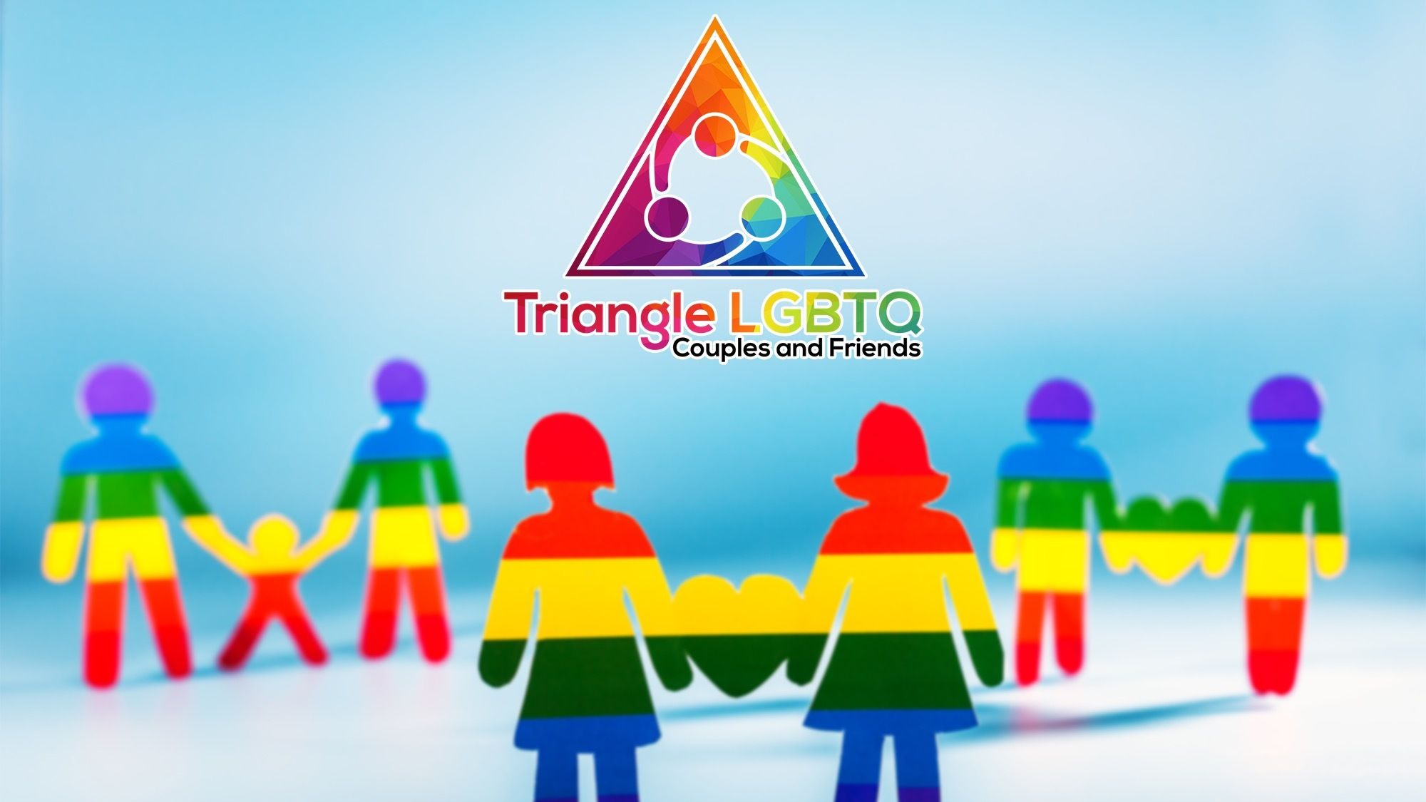 Triangle LGBTQ Couples & Friends