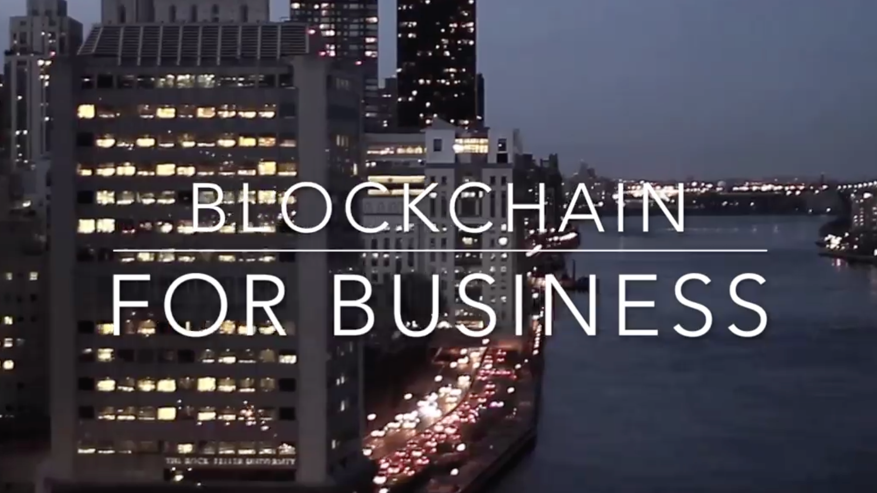 Blockchain for Business in Central PA
