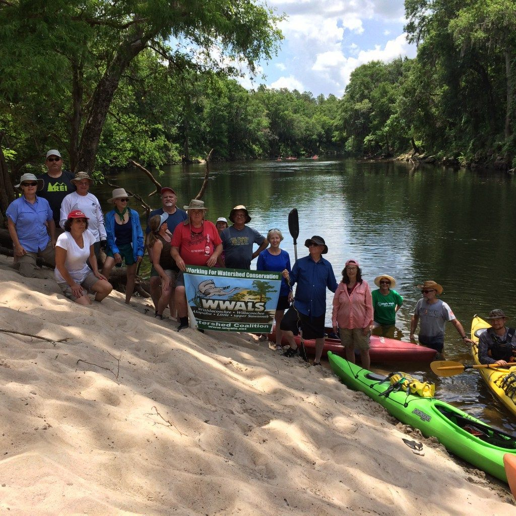 Paddle Withlacoochee, Alapaha, Suwannee RIvers with WWALS