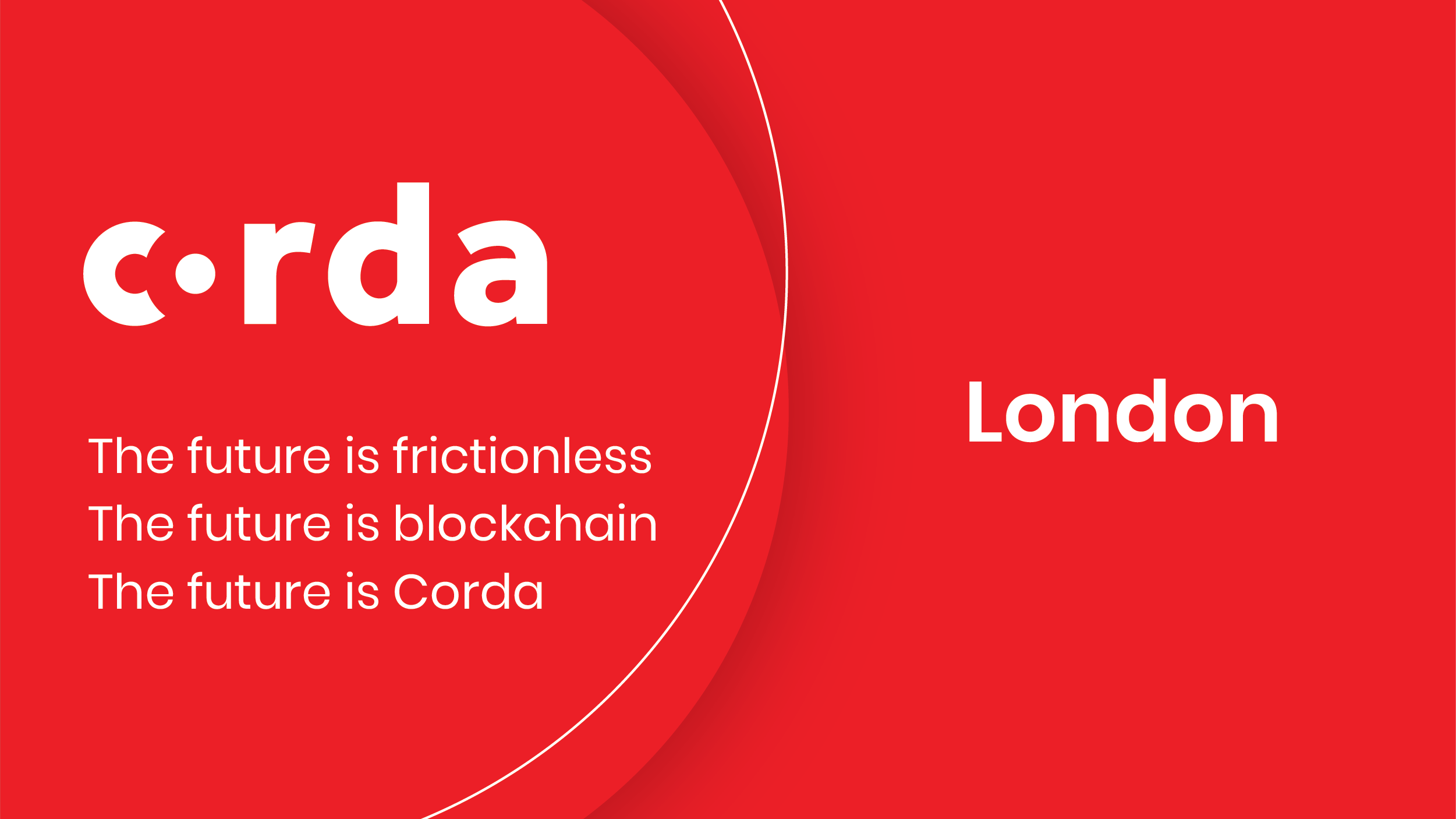 Corda Blockchain London
