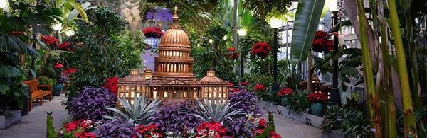 Garden Walk Mall: Christmas National Mall Walk/Concert/Botanical Garden