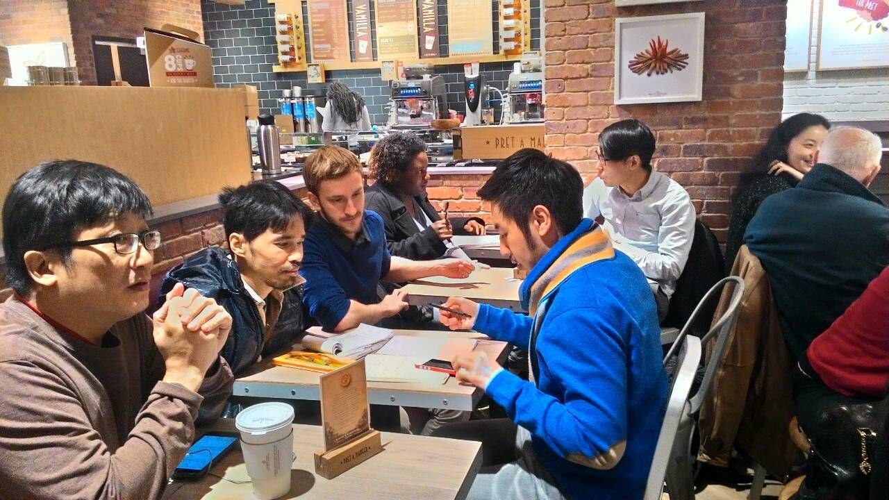 New York English and Mandarin Language Exchange
