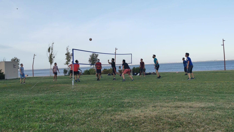 Grass Volleyball - Parque Ribeirinho Oriente (Braço de Prata)