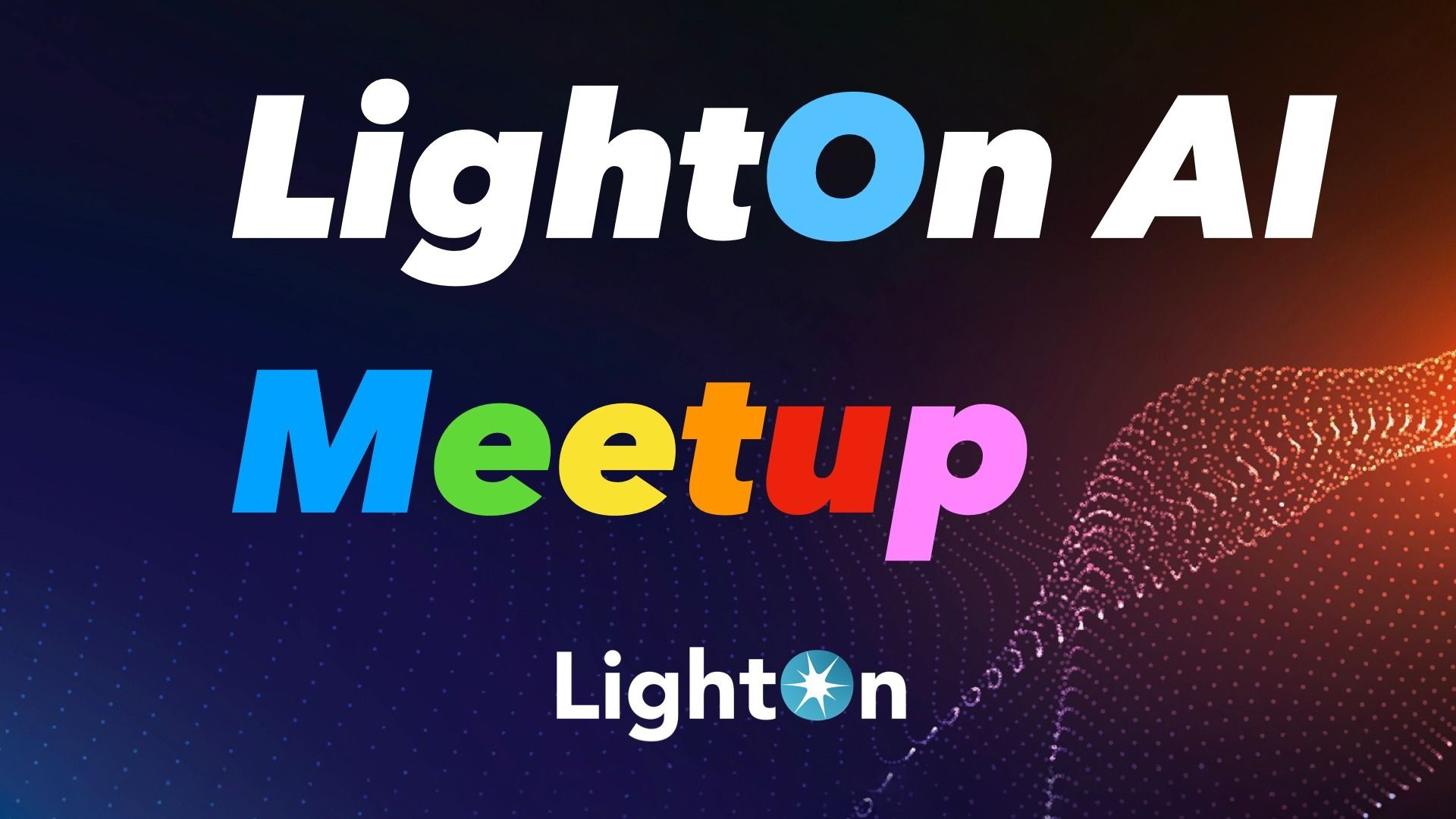LightOn Artificial Intelligence meetup