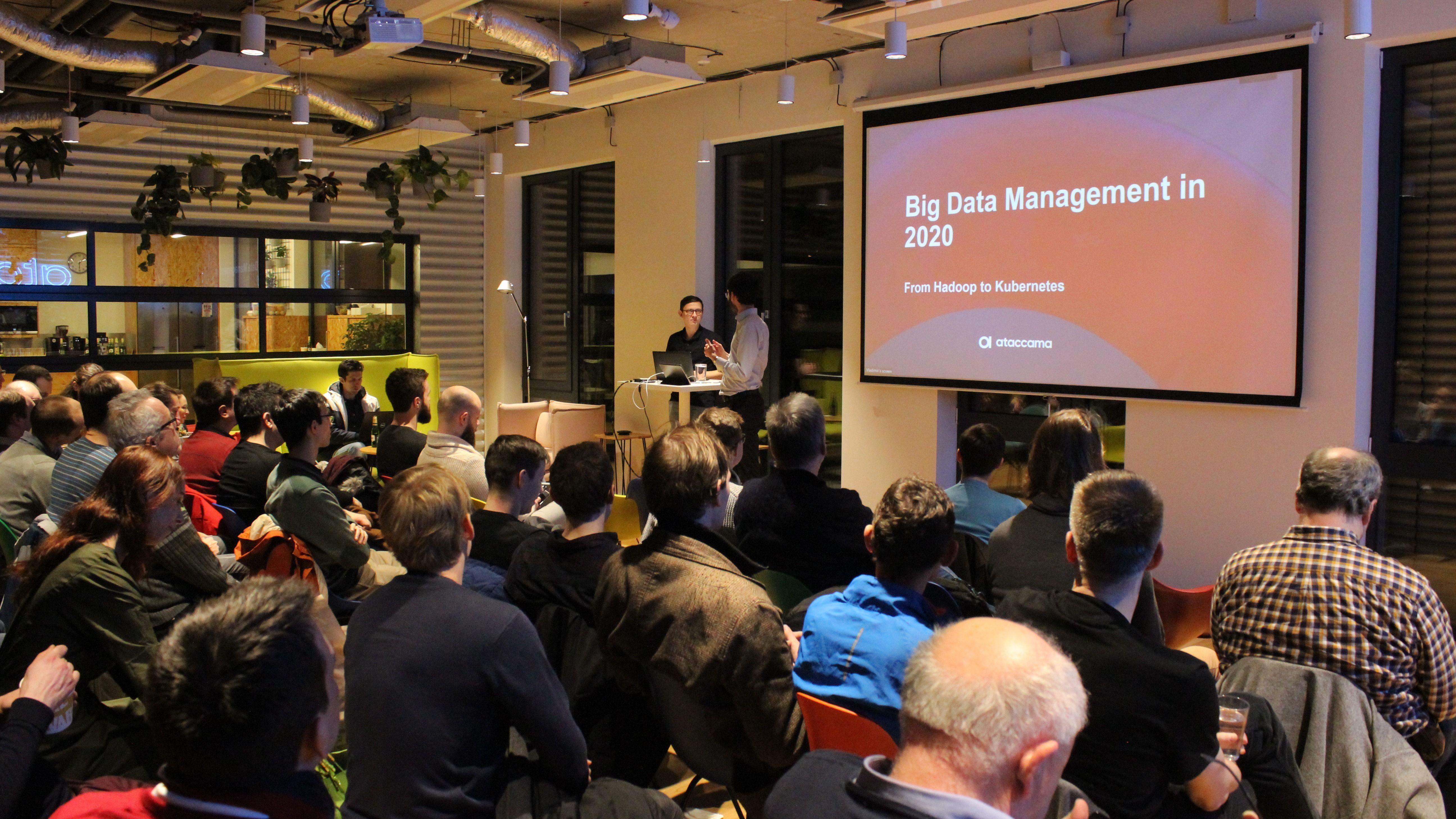 HUG: Big Data Meetup Prague