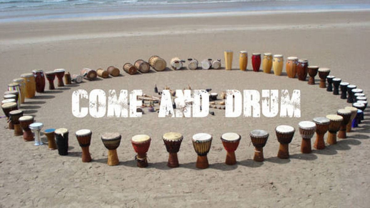 Come and Drum // Djembe Drumming for Beginners