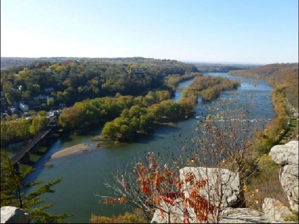 Hike Maryland Heights Trails Harpers Ferry WV, Lunch ...