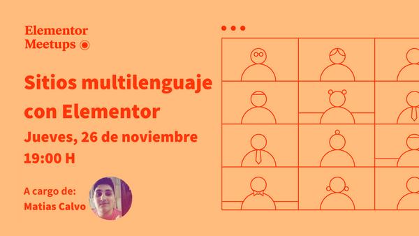 Sitios multilenguaje con Elementor 🌐 - event image