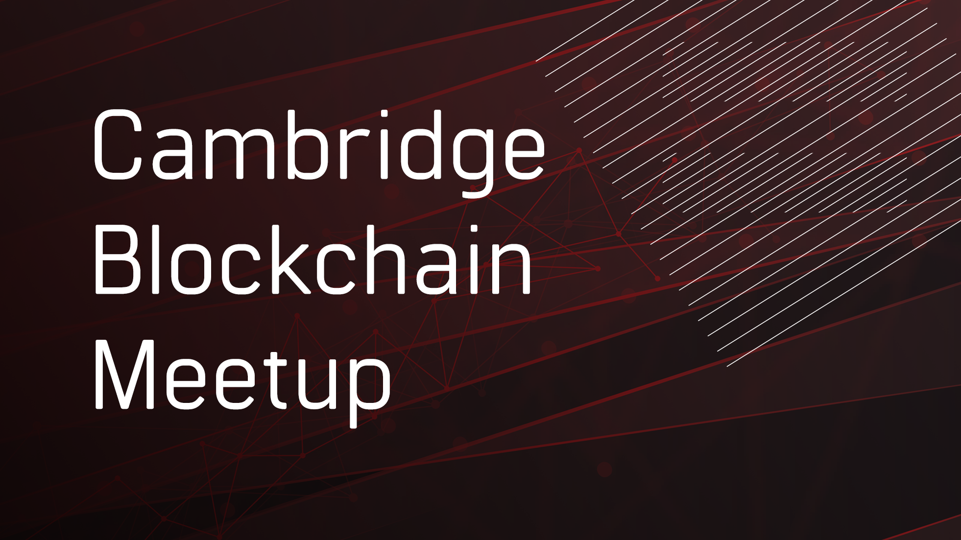 Cambridge Blockchain Meetup // Parity Technologies