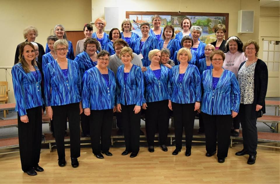 Live Music Meetup - a cappella for women.  Harmony NW Chorus