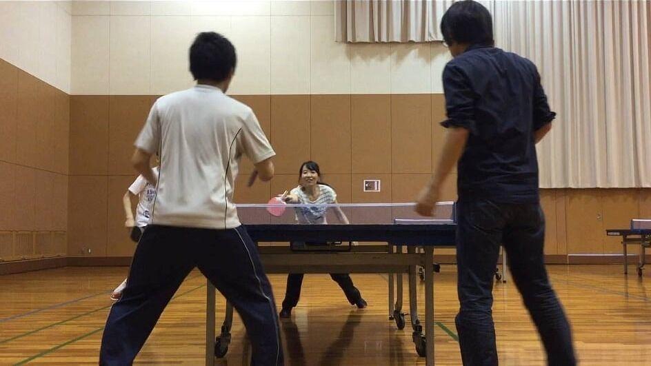 ???? 卓球 TABLE TENNIS: Ogimachi Pool (Tenma)