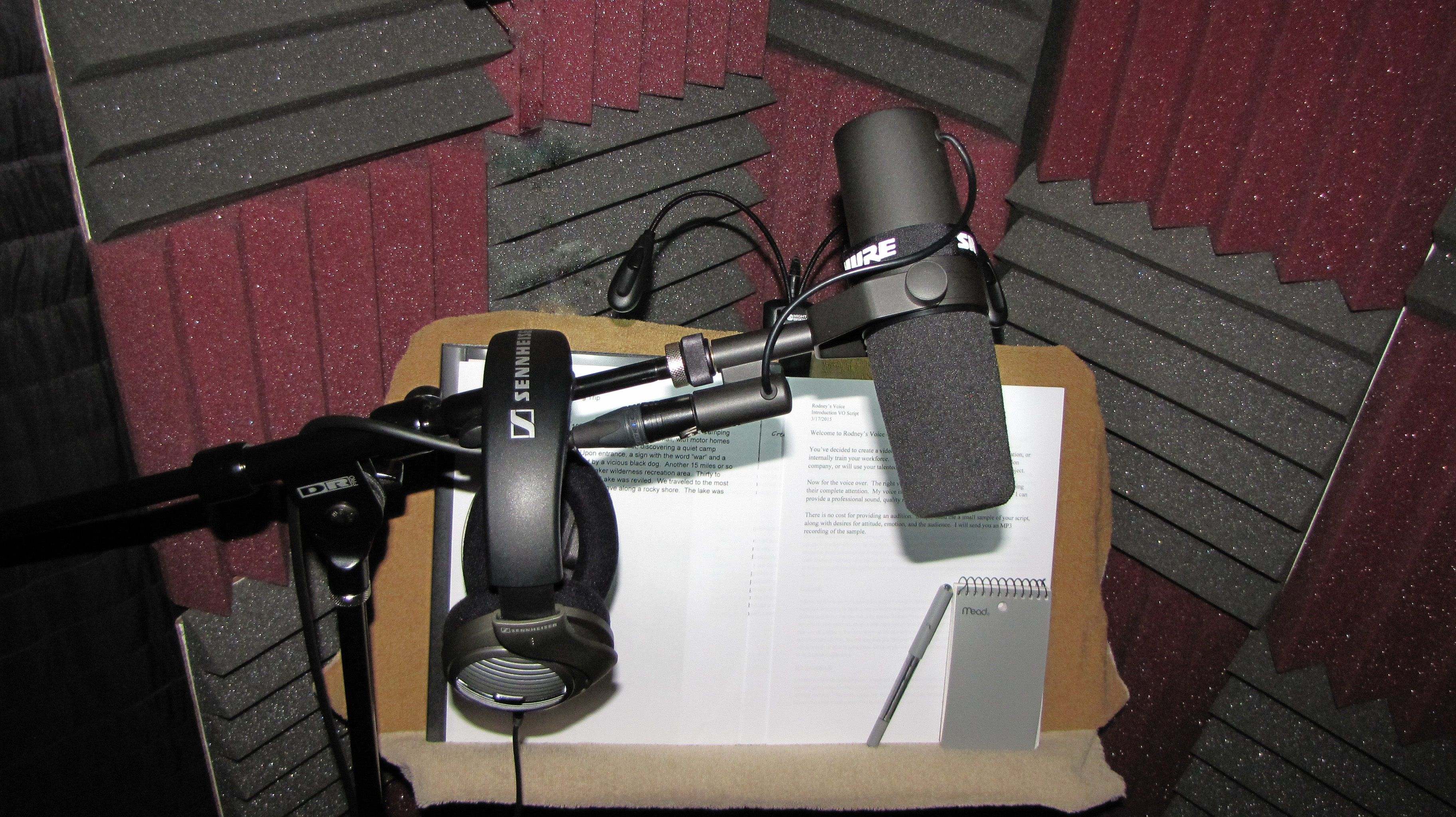 Talk shop and everything else with other Voice Over talents
