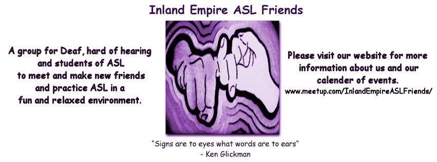 Inland Empire ASL Friends