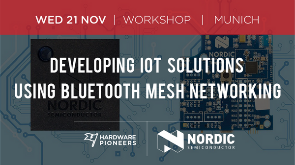 Nordic Workshop: Developing IoT Solutions Using Bluetooth