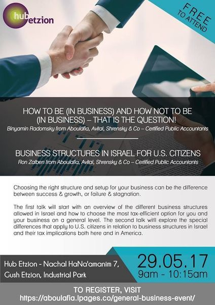 HOW TO BE IN BUSINESS AND HOW NOT TO BE IN BUSINESS – THAT IS THE QUESTION!