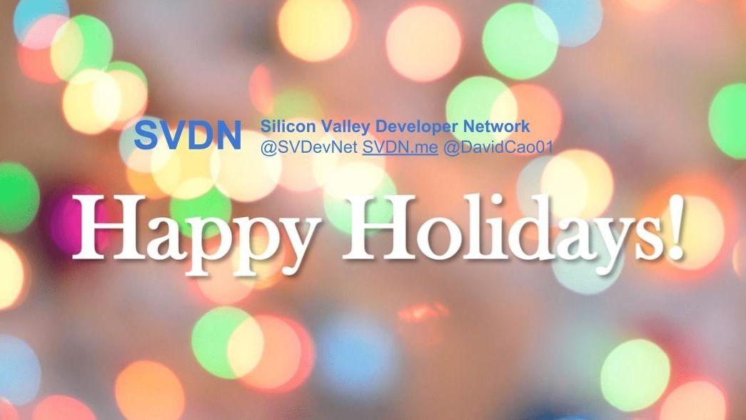 Silicon Valley Developer Network (SVDN)