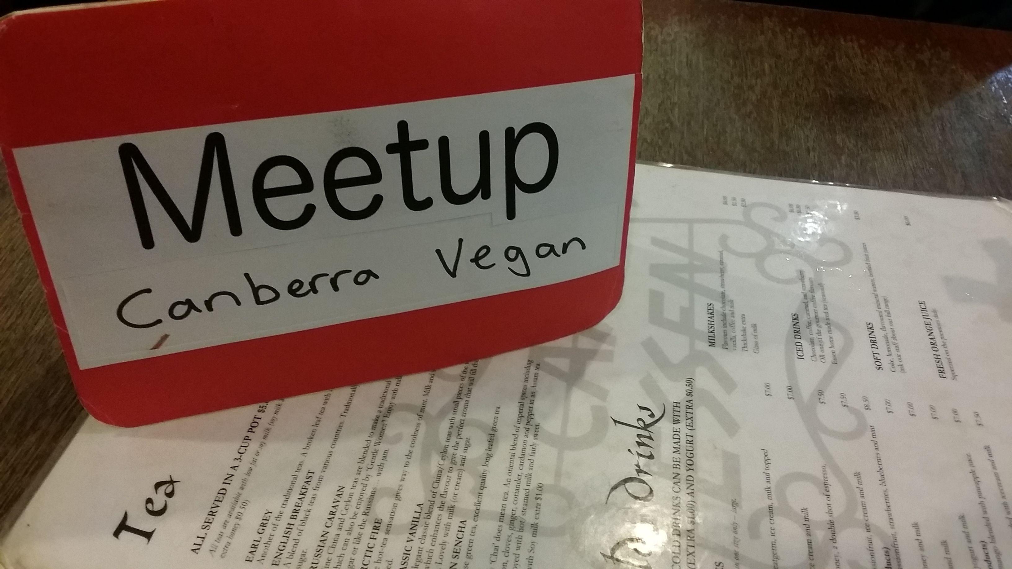 Canberra Vegan Meetup