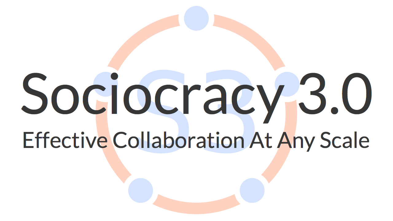 Sociocracy 3.0 Meetup Brussels & Brabant