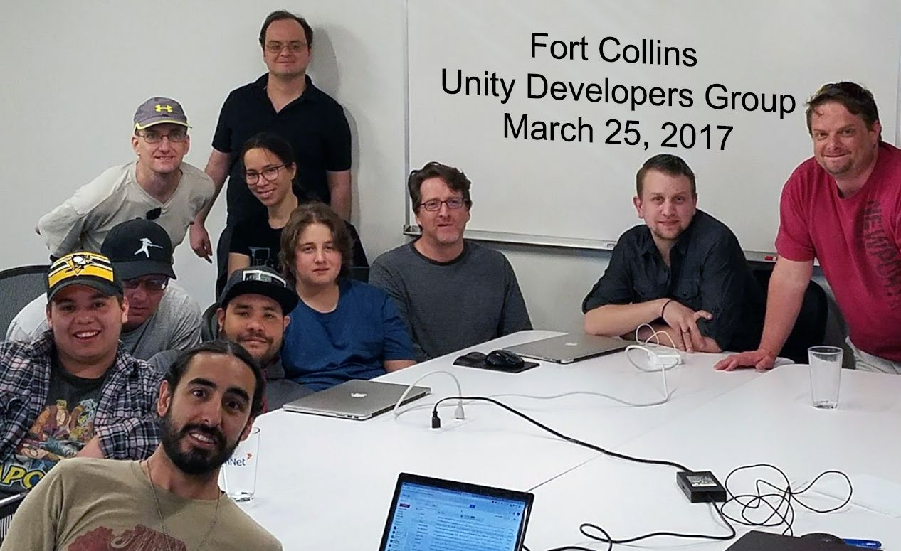 Fort Collins Unity Developers Group
