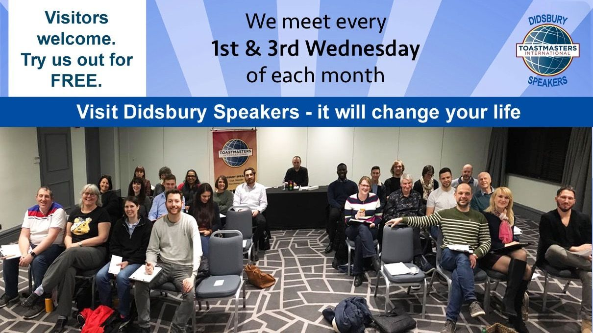Didsbury Speakers