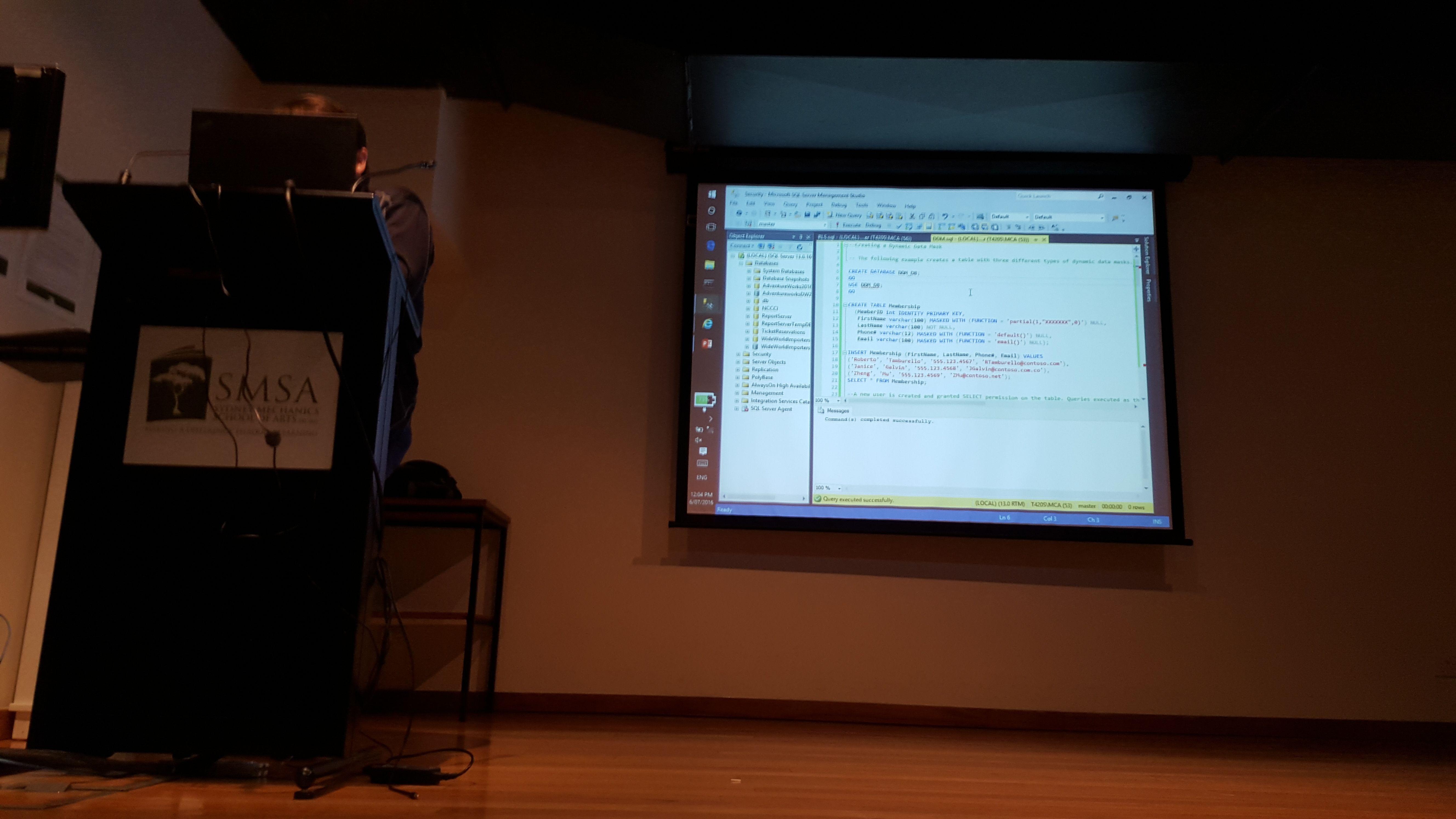 Sydney SQL Server User Group