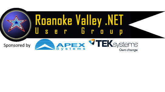 Roanoke Valley .NET User Group (RVNUG)