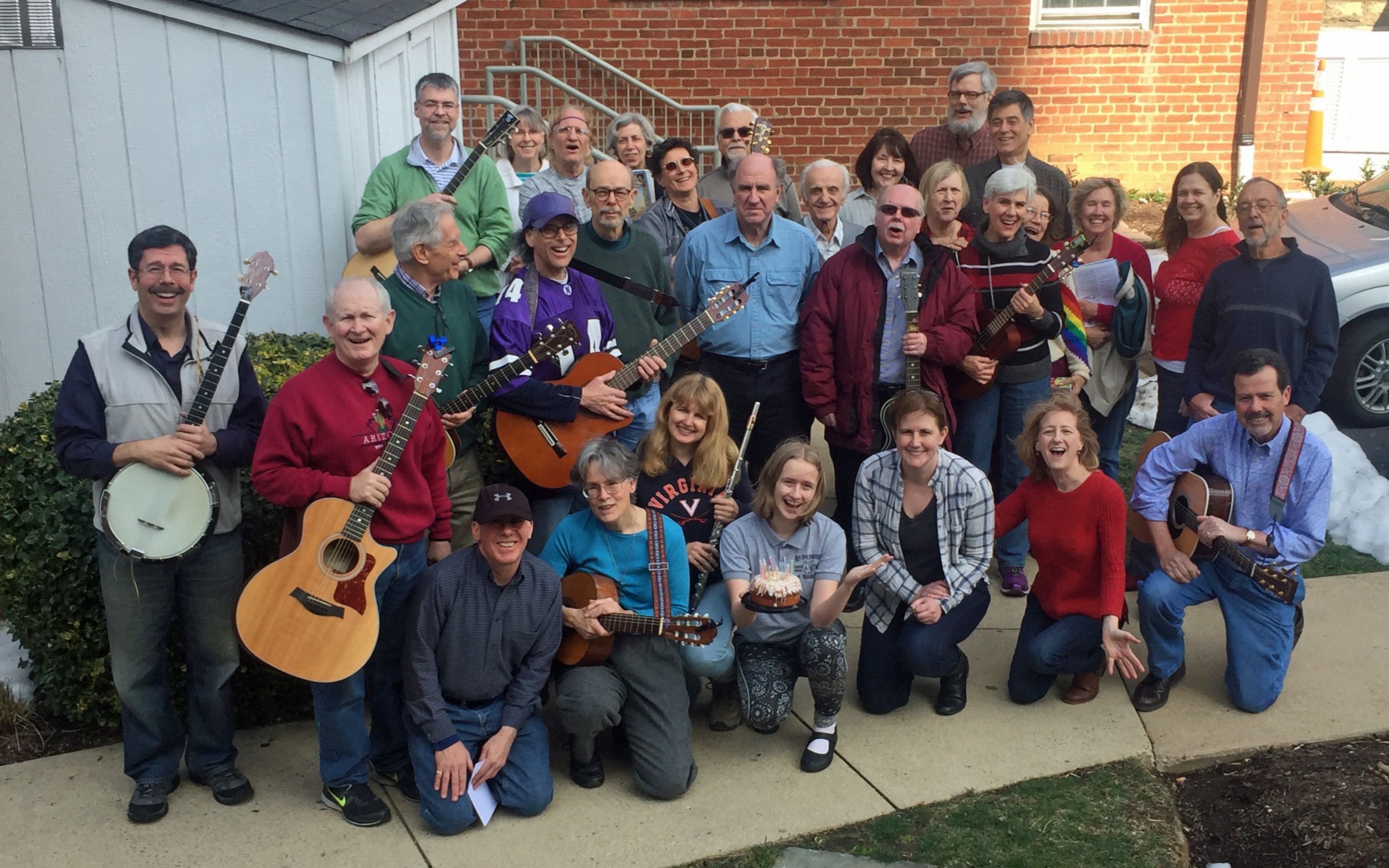 The DC Area Folk SOJO (Sing Out Jam Out)