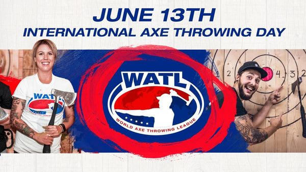 Image result for INternational Axe throwing day