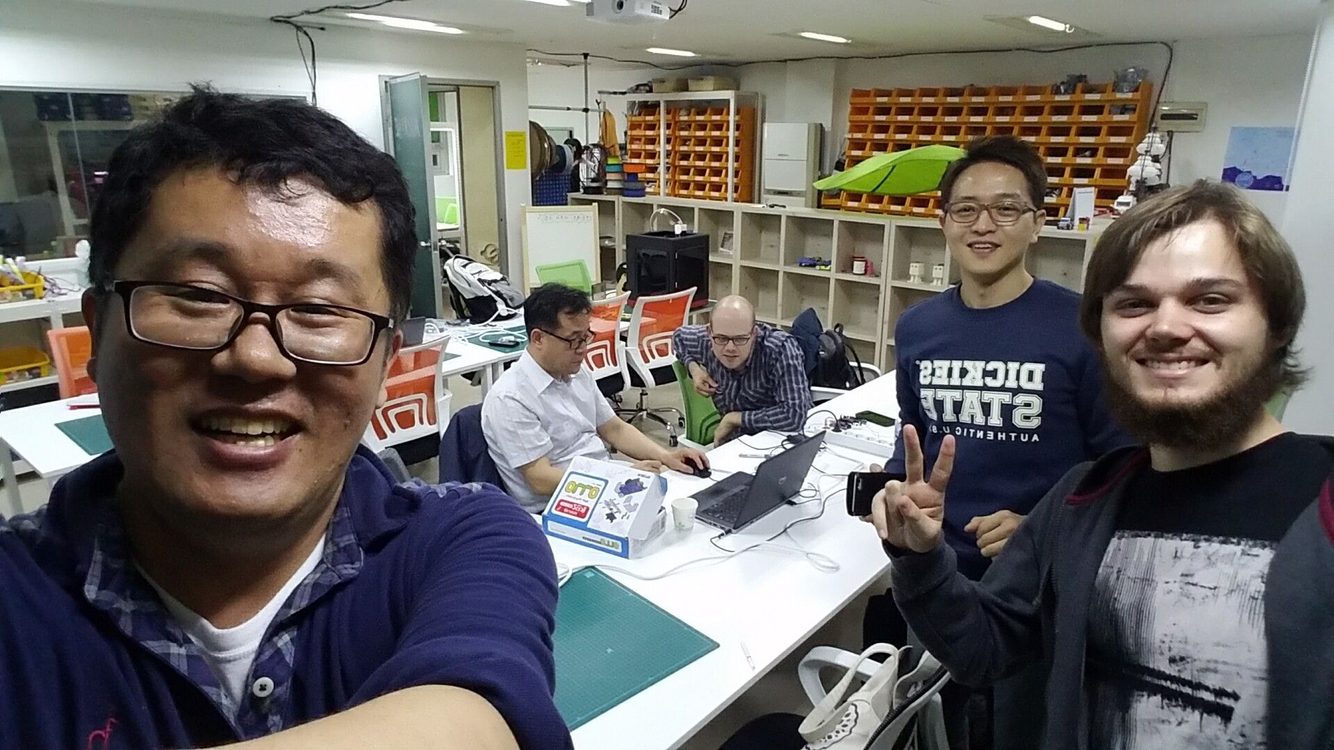 Play project with Arduino, Raspberry pi, at Songpa Seoul