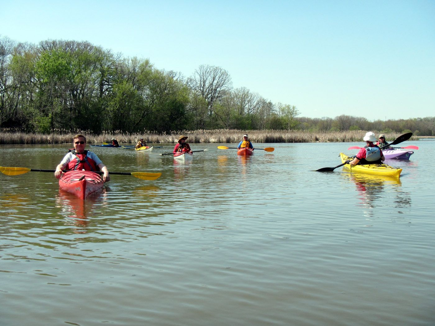 FLOAT YOUR BOAT: Chicago Area Paddlers Meetup