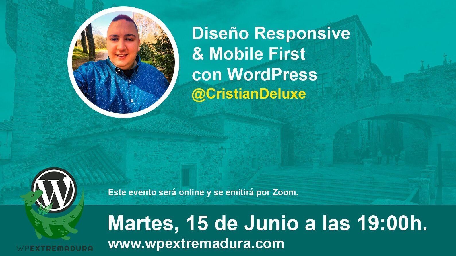 Diseño Responsive & Mobile First con WordPress